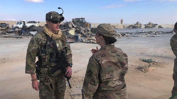 Americká vojenská základna Ein al-Assad v Iráku - Sputnik Česká republika