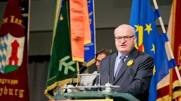 Министр культуры Чешской Республики Даниел Херман во время выступления в Нюрнберге, Германия - Sputnik Česká republika