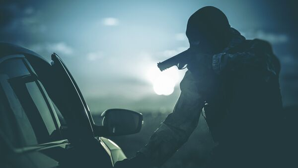 Ozbrojený útok na auto. Illustrační foto - Sputnik Česká republika