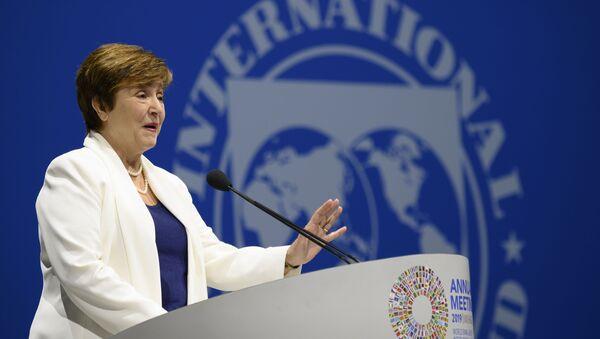 generální ředitelka Mezinárodního měnového fondu Kristalina Georgievová - Sputnik Česká republika