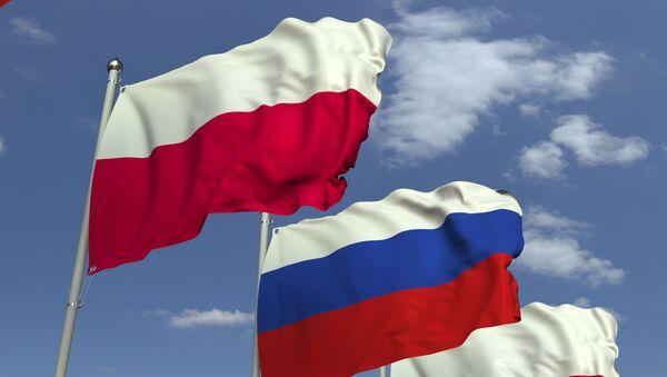 Vlajky Polska a Ruska - Sputnik Česká republika