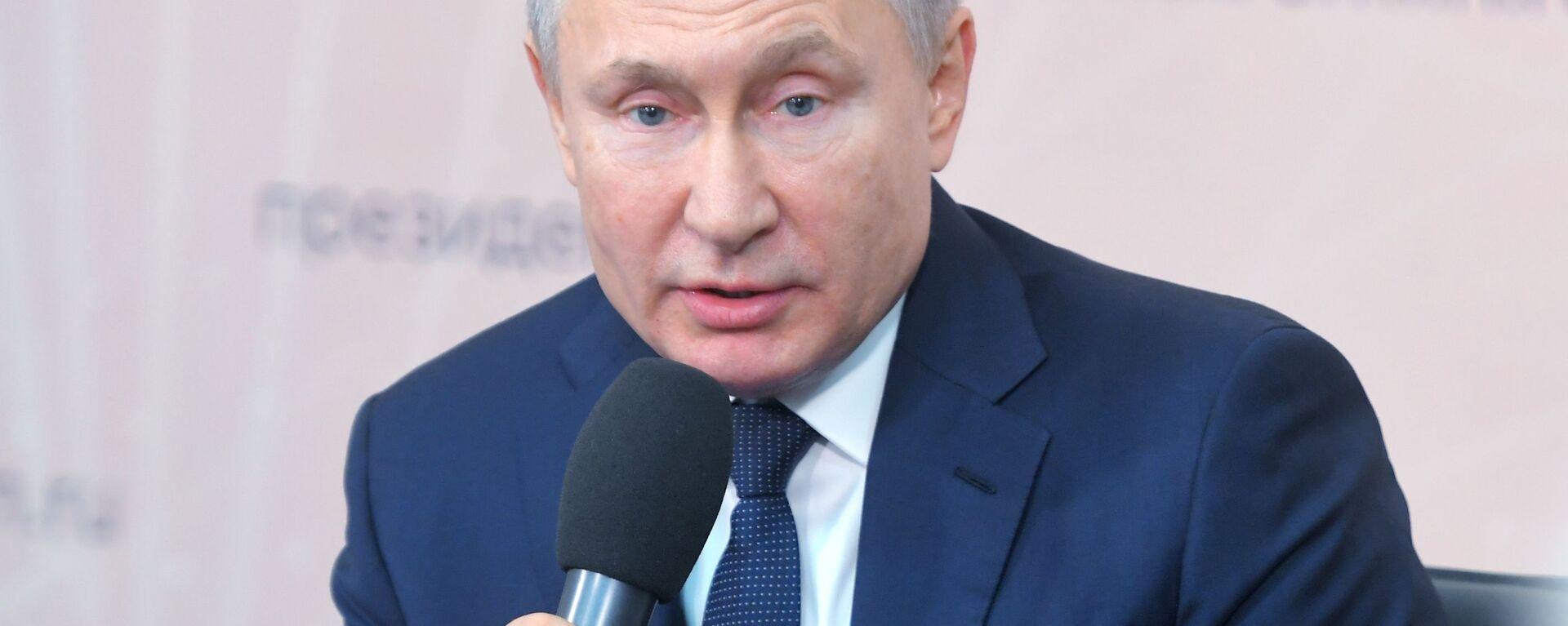 Ruský prezident Vladimir Putin - Sputnik Česká republika, 1920, 21.06.2020