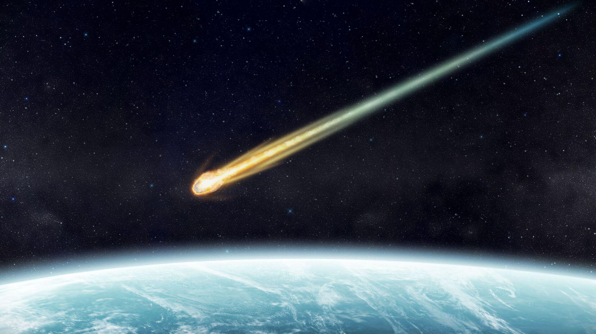 Meteorit. Ilustrační foto - Sputnik Česká republika, 1920, 25.04.2021