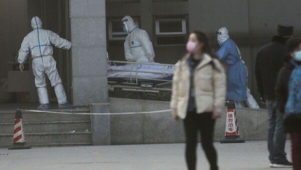 Hospitalizace nakaženého koronavirem ve Wu-chanu - Sputnik Česká republika