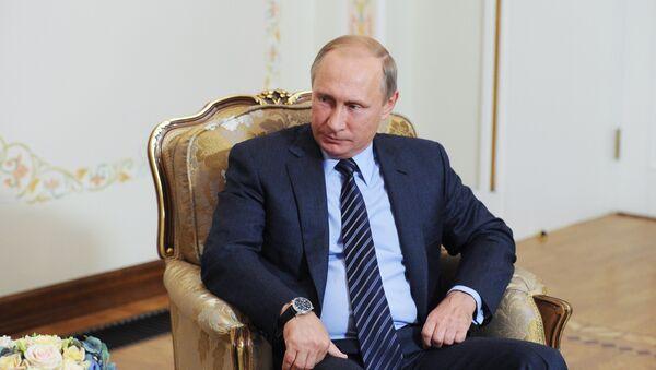 Президент РФ В.Путин встретился с президентом Армении С.Саргсяном - Sputnik Česká republika