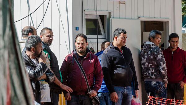 Migranti v Belgii - Sputnik Česká republika
