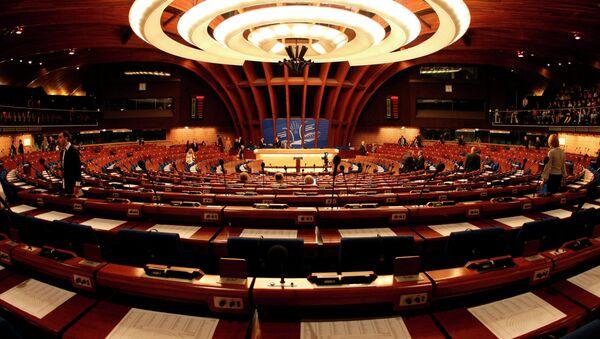 Celkový pohled na plenární sál Rady Evropy ve Štrasburku - Sputnik Česká republika