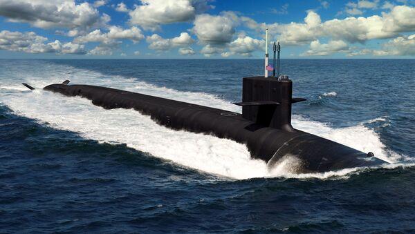 Ponorka Columbia - Sputnik Česká republika