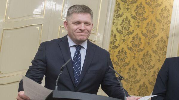 Slovenský politik Robert Fico - Sputnik Česká republika
