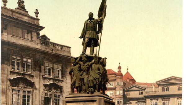 Pomník maršála Radeckého v Praze - Sputnik Česká republika