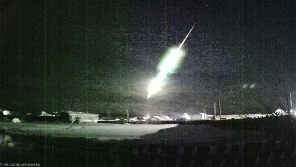 Pád meteoru v Rusku - Sputnik Česká republika