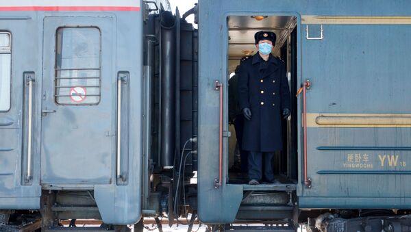 Vlak Peking - Moskva - Sputnik Česká republika