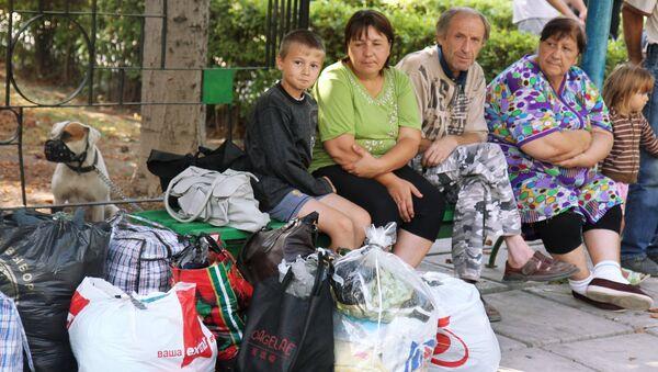 Ukrajinští uprchlíci - Sputnik Česká republika
