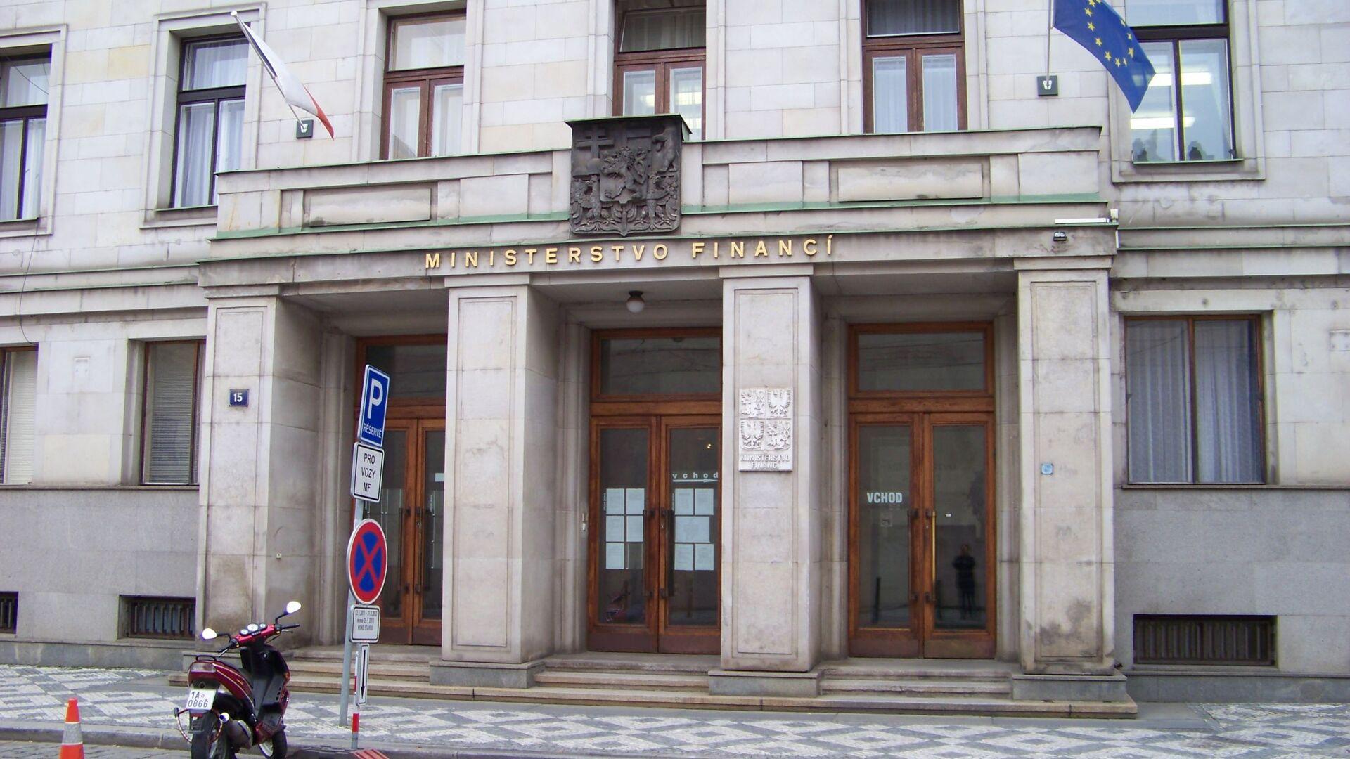 Ministerstvo financí v Praze - Sputnik Česká republika, 1920, 21.07.2021