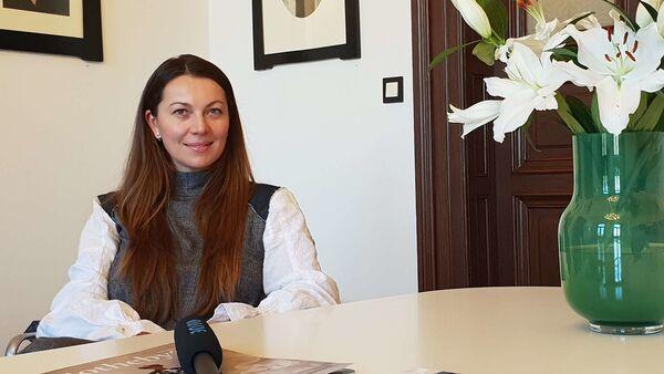 Makléřka Ilona Mančíková ze společnosti Sotheby's Česká republika - Sputnik Česká republika