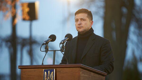 Ukrajinský prezident Volodymyr Zelenskyj byl hospitalizován  - Sputnik Česká republika