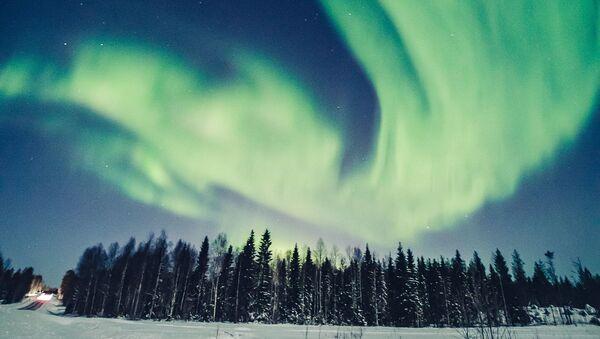 Liščí oheň: Magie polární záře ve Finsku - Sputnik Česká republika