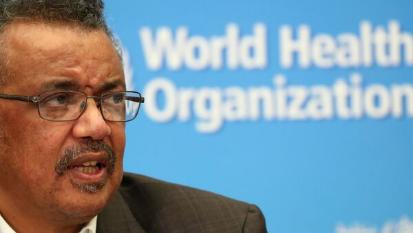 Tedros Adhanom Ghebreyesus, generální ředitel Světové zdravotnické organizace (WHO) - Sputnik Česká republika