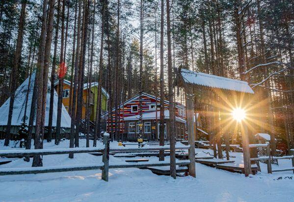 Zimní dovolená v Karelské republice - Sputnik Česká republika