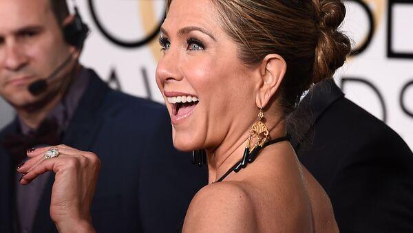 Hollywoodská herečka Jennifer Anistonová  - Sputnik Česká republika