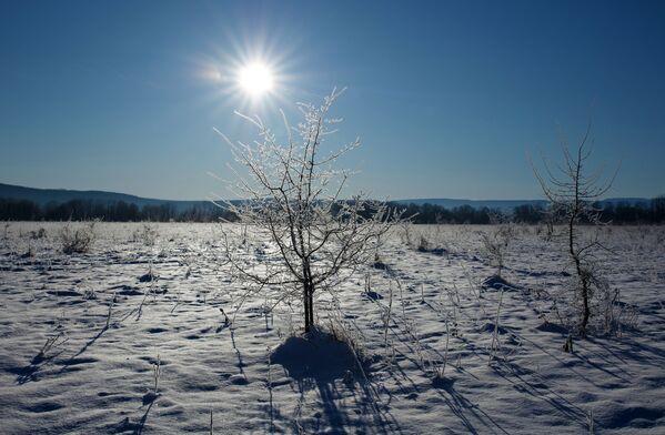 Ráno v Apšeronské oblasti Krasnodarského kraje, Rusko. - Sputnik Česká republika