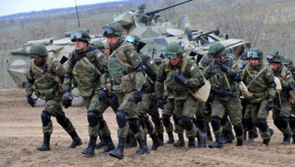 Vojenská cvičení v Čečensku - Sputnik Česká republika