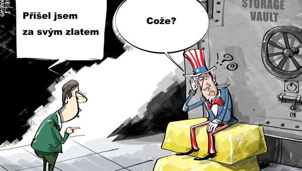 Jak vrátit své zlato? - Sputnik Česká republika