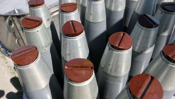 Chemické zbraně. Ilustrační foto - Sputnik Česká republika