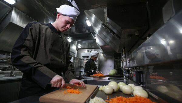 Kuchař. Ilustrační foto - Sputnik Česká republika