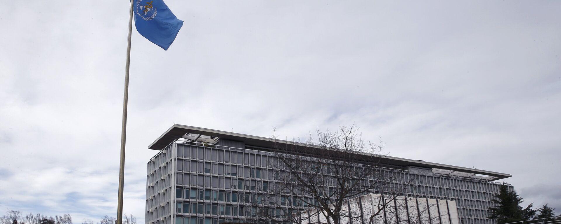 Sídlo Světové zdravotnické organizace (WHO) v Ženevě, Švýcarsko - Sputnik Česká republika, 1920, 13.07.2021
