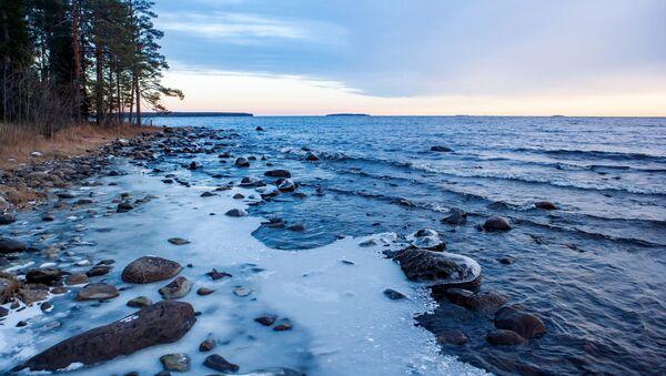 Oněžské jezero v Karelské republikce, Rusko - Sputnik Česká republika