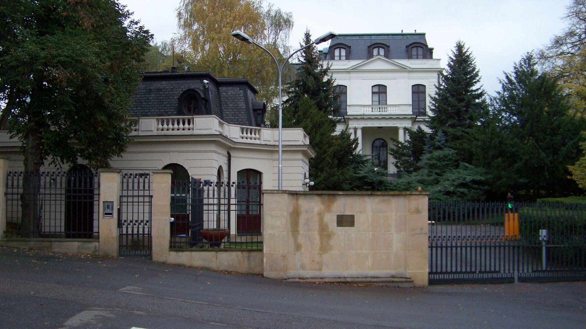 Náměstí Pod kaštany, velvyslanectví Ruské federace - Sputnik Česká republika, 1920, 18.09.2021
