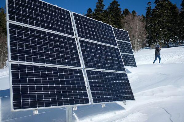 Solární panely v Kavkazské státní přírodní biosférické rezervaci - Sputnik Česká republika