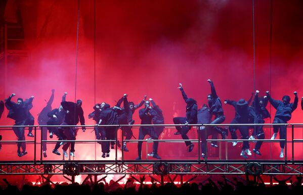 Vystoupení Stormzyho na Brit Awards 2020 - Sputnik Česká republika