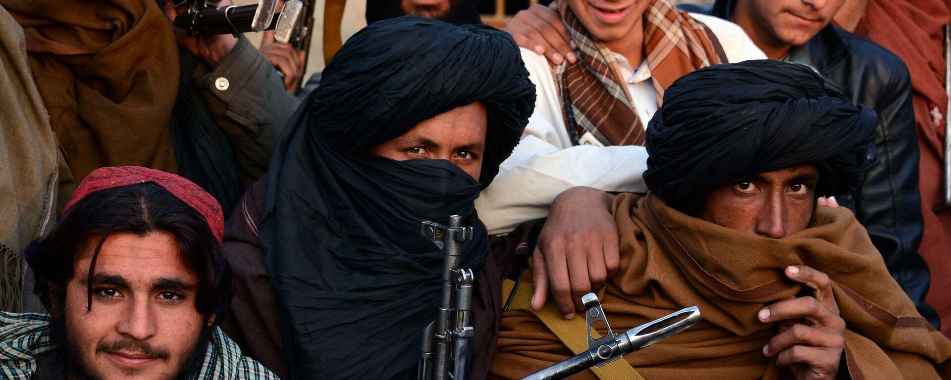 Členové hnutí Tálibán v provincii Farah (archivní foto) - Sputnik Česká republika, 1920, 05.09.2021