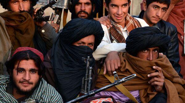 Členové hnutí Tálibán v provincii Farah (archivní foto) - Sputnik Česká republika