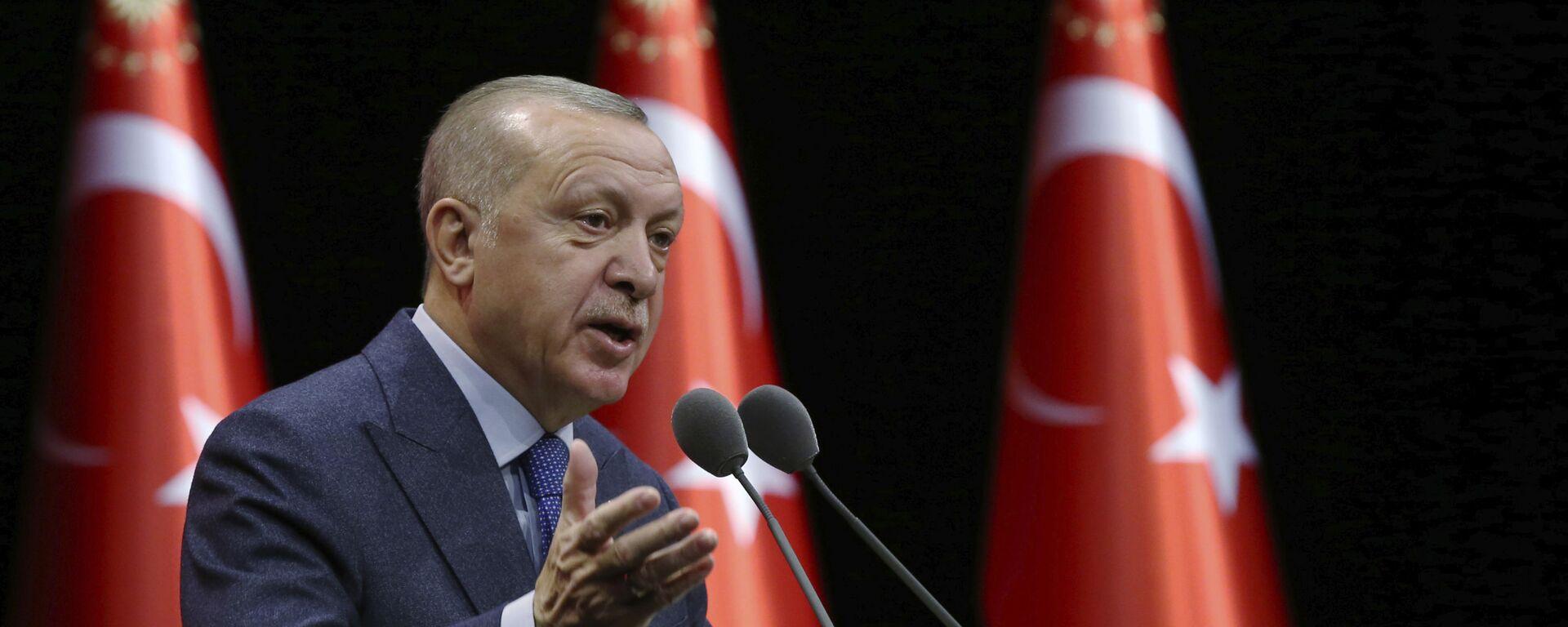 Turecký prezident Recep Tayyip Erdogan - Sputnik Česká republika, 1920, 24.09.2021