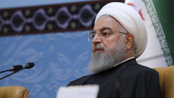 Nejvyšší vůdce Íránu Hassan Rúhání  - Sputnik Česká republika