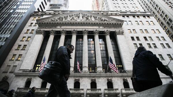 Burza cenných papírů v New Yorku - Sputnik Česká republika