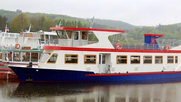 Výletní loď Dallas v Brně - Sputnik Česká republika