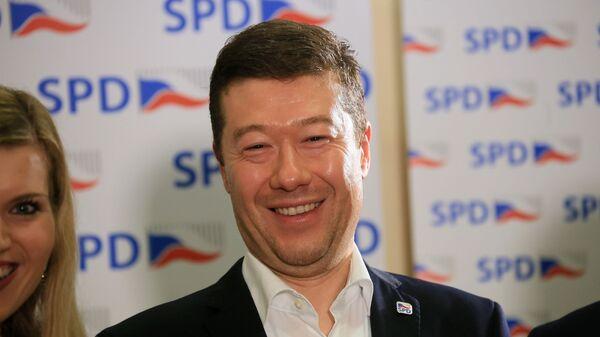 Šéf SPD Tomio Okamura. - Sputnik Česká republika