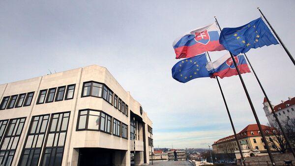Budova Národní rady Slovenské republiky. Ilustrační foto - Sputnik Česká republika