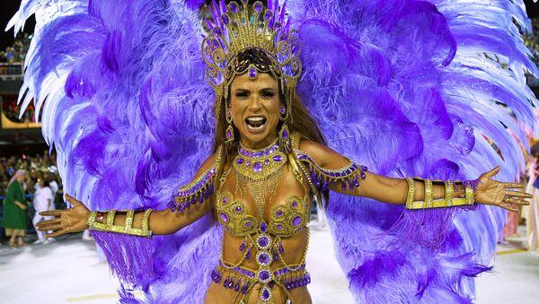 Účastnice karnevalu v Riu de Janeiru - Sputnik Česká republika