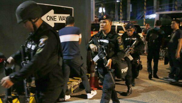 Členové SWAT Filipínské Národní policie - Sputnik Česká republika