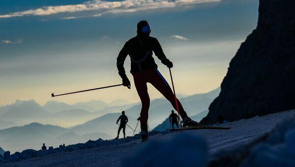 Závodníci na biatlon v Rakousku. Ilustrační foto - Sputnik Česká republika