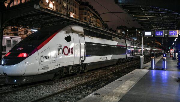 Rychlovlak TGV v Paříži. Ilustrační foto - Sputnik Česká republika