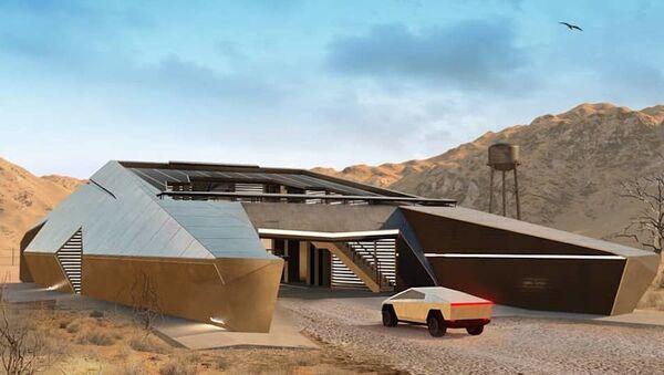 Koncept domu CyberHouse od ruské architektonické společnosti Modern House - Sputnik Česká republika