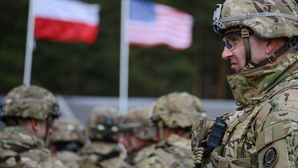 Vojáci NATO v Polsku - Sputnik Česká republika