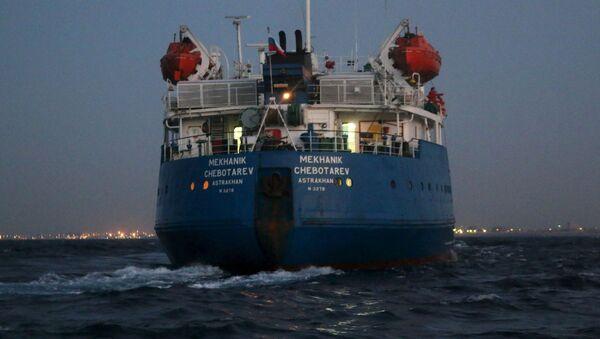 Tanker Mechanik Čebotarev - Sputnik Česká republika