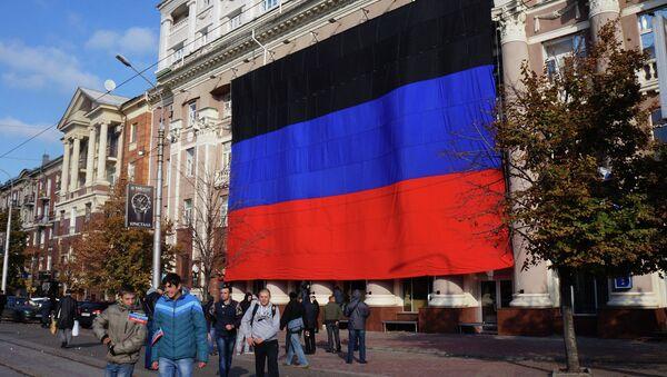 Den vlajky v Doněcku - Sputnik Česká republika